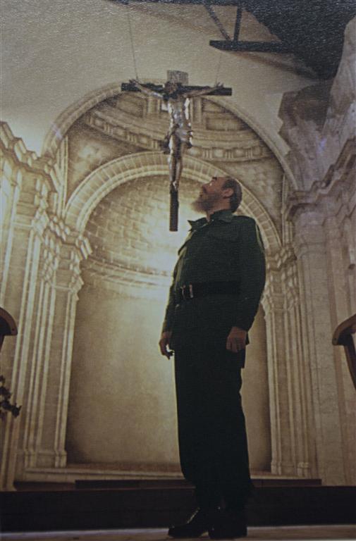 Fidel en la Basilica del Convento de San Francisco de Asís