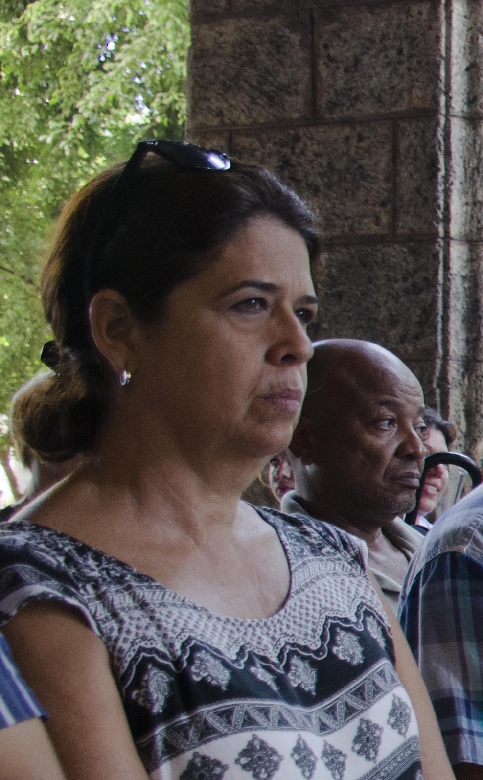 Lesbia Méndez, directora de Patrimonio de la Oficina del Historiador de la Ciudad de La Habana