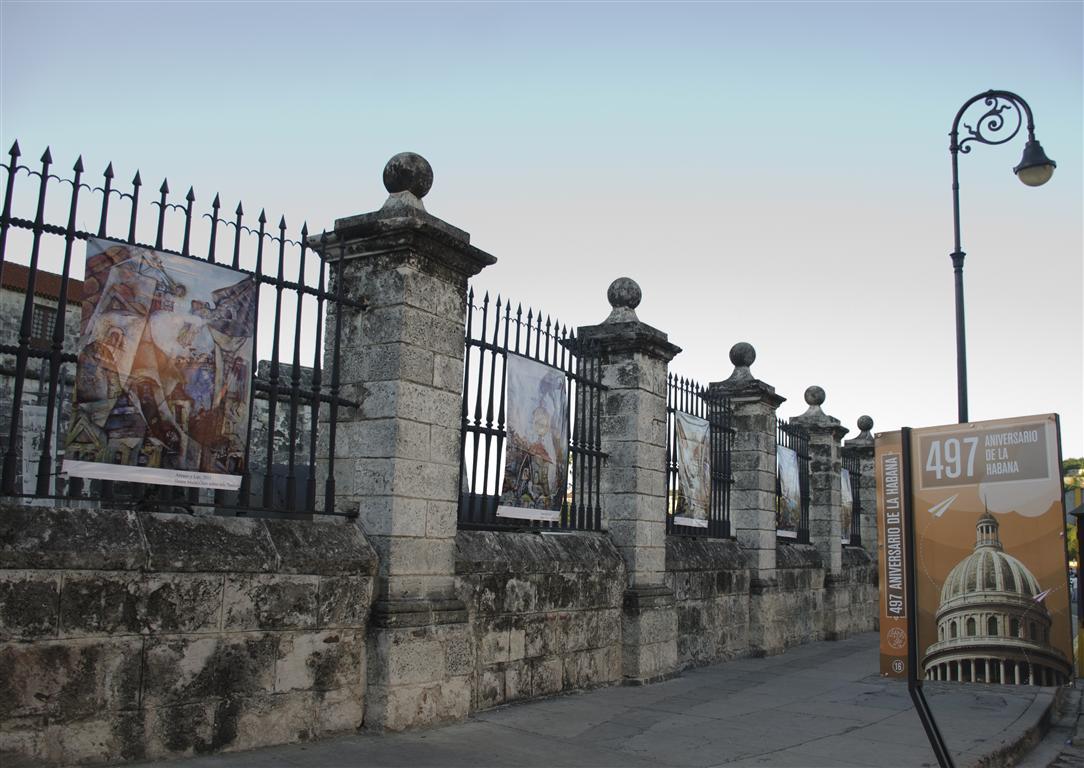 obra de ileana mulet expuesta en las verjas del castillo 3 (Medium)