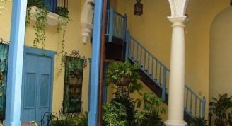 5-H. Beltrán-detalle, patio restaurado.