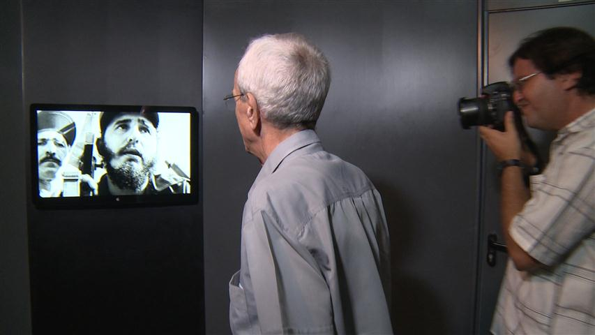 """Exposición de fotografías y audiovisuales """"Fidel"""""""