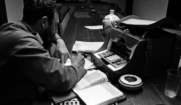 Fidel Castro, 1970. Foto: Liborio Noval