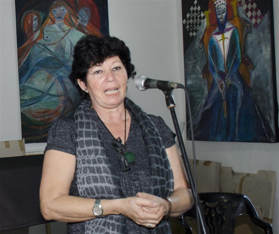 Estrella Díaz, curadora de la muestra