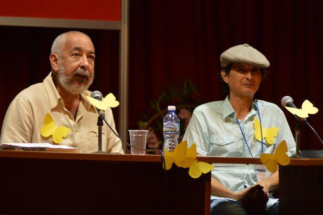 Momentos del homenaja al Gabo en la Feria Internacional del Libro Cuba 2017 (Foto: Diego Santana)