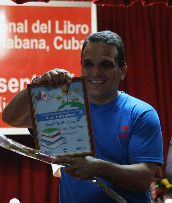 La Organización Nacional de Bufetes Colectivos obtuvo el Primer Premio en Stand No Modular. Foto: José Raúl Concepción/ Cubadebate