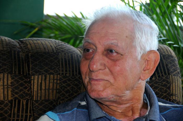 Coronel (r) Elgin Ramón Fontaine Ortiz, combatiente de la columna Nro. 2 Foto: Juvenal Balán