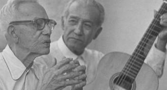 El Festival se dedicará a los 150 años de Sindo Garay, en la foto a la izquierda, junto a Miguel Matamoros. FOTO: ARCHIVO
