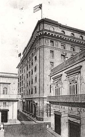 Edificio de Aguiar y Obrapía, vista antigua