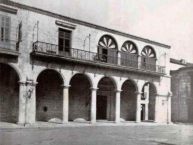 Marqués de Arcos hacia la plaza, años '60