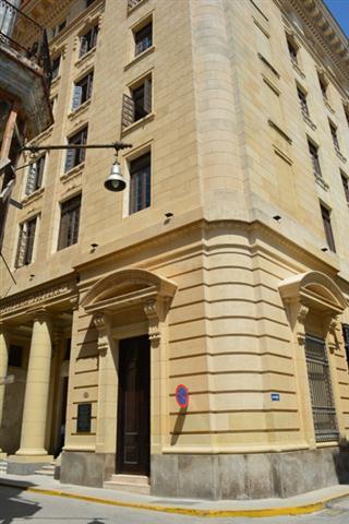 Edificio de Aguiar y Obrapía, hoy Tribunal
