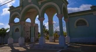 Entrada del Cementerio General de Remedios