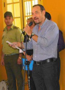 Raúl Garcés, decano de la Facultad de Comunicación e integrante de la Presidencia nacional de la Upec (Foto: YAG)