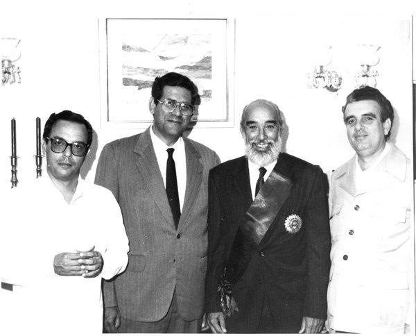 En 1986 le fue otorgada en La Habana a Antonio Núñez Jiménez la Orden El Sol del Perú. Junto a él, Eusebio Leal