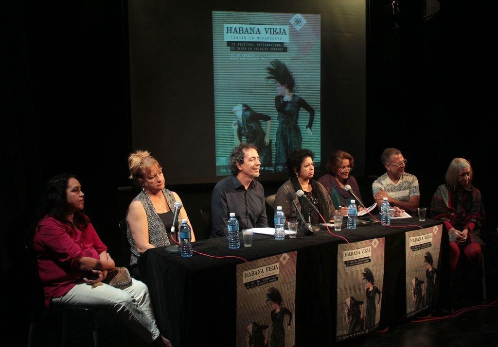 Momentos de la conferencia de prensa (Foto: Thays Roque Arce)