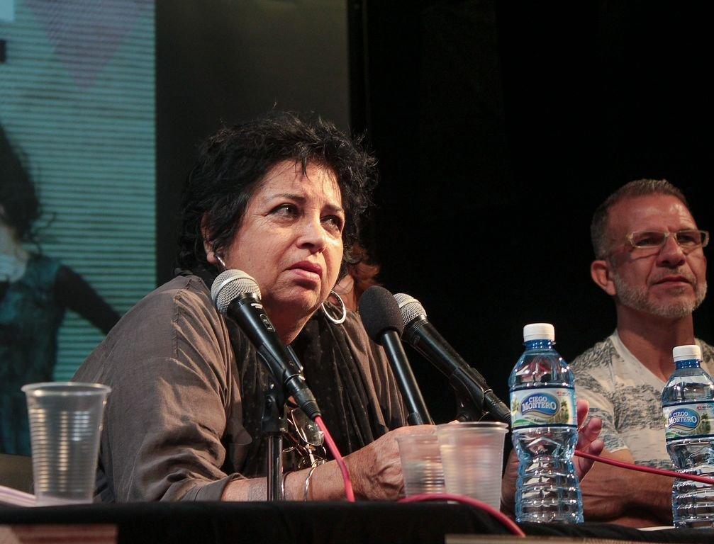 """Isabel Bustos, creadora, presidenta y promotora también de """"Habana Vieja: Ciudad en movimiento"""" (Foto: Thays Roque Arce)"""