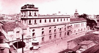 Observatorio y Convento de Belén hacia 1900