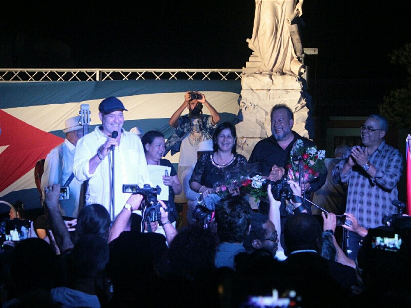 Perugorría inaugura el Festival de Gibara
