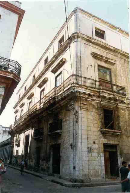 Cuba 102 Casa O'Farrill, antes de la restauración