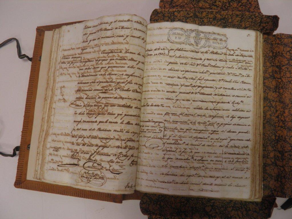 Actas del Ayuntamiento. Foto: Cortesía del Archivo Histórico