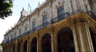 Museo de la Ciudad, otrora Palacio de los Capitanes Generales, en el Centro Histórico de La Habana