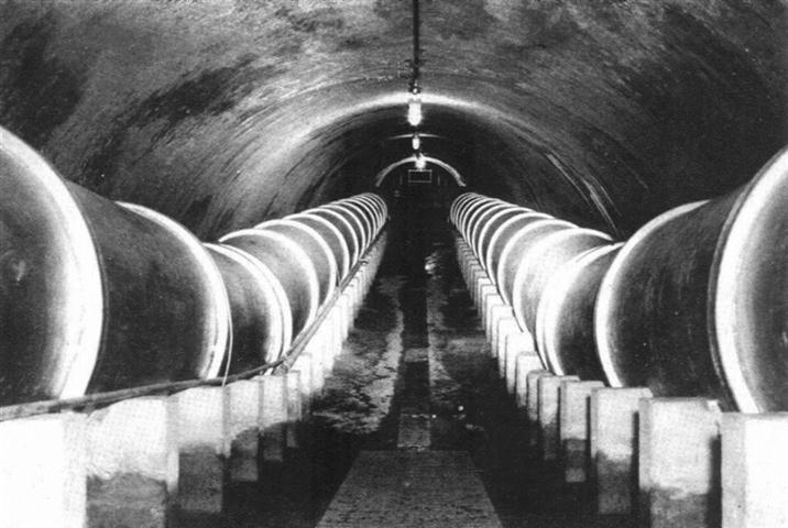 Acueducto Albear, sifon bajo el Almendares)