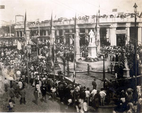 Inauguración del Parque Albear