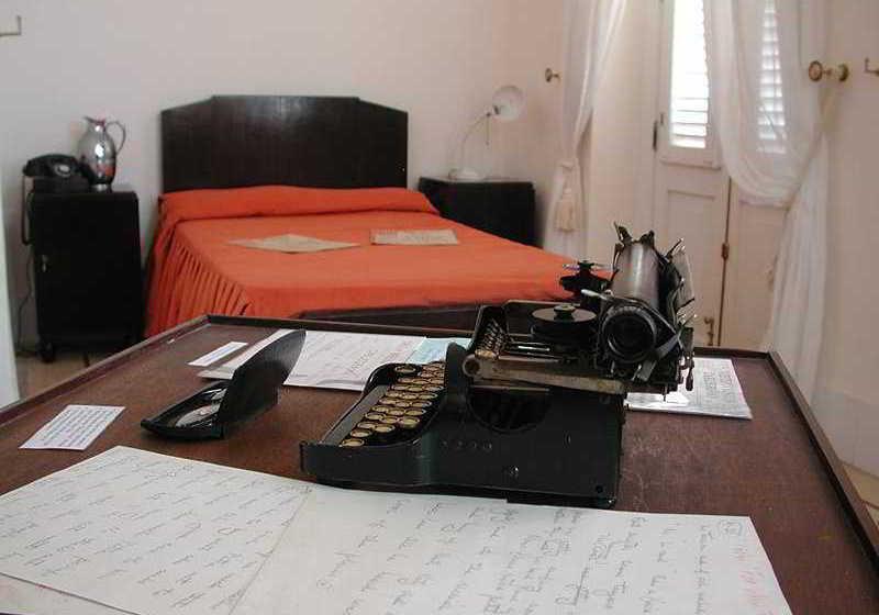 Habitación del Hotel Ambos Mundos en la que residió Ernest Hemingway
