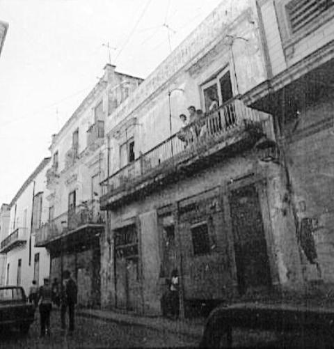 1-Mercaderes 116, años '80, antes de la restauración