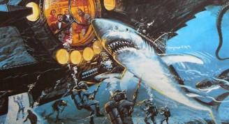 En 20000 leguas de viaje submarino el Capitán Nemo inventa un fusil que produce descargas eléctricas y se puede disparar bajo el agua