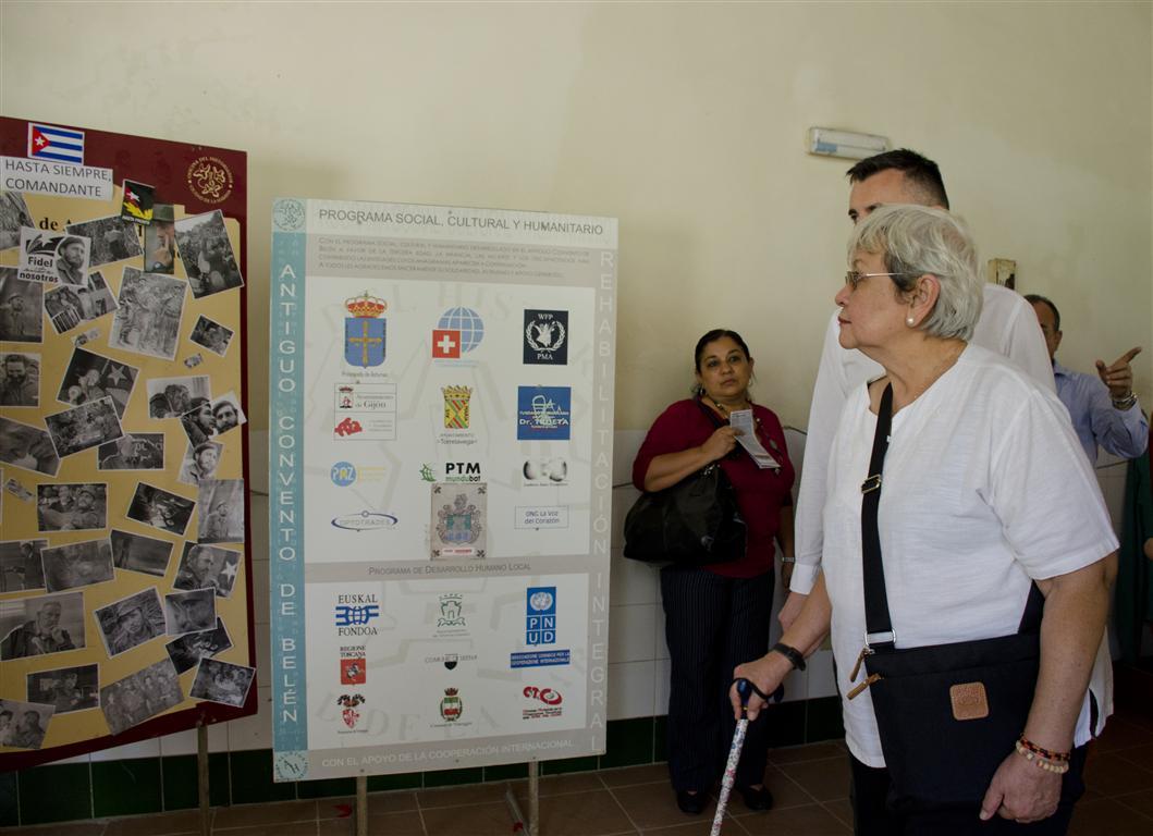 La celebración coincidió con la visita de Virginia Bonoan, experta en temas de Solidaridad Internacional del Consejo de Derechos Humanos de Naciones Unidas.
