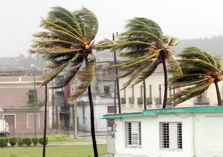 Huracán Dennis en La Habana