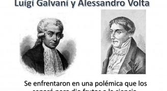 Galvani y Volta