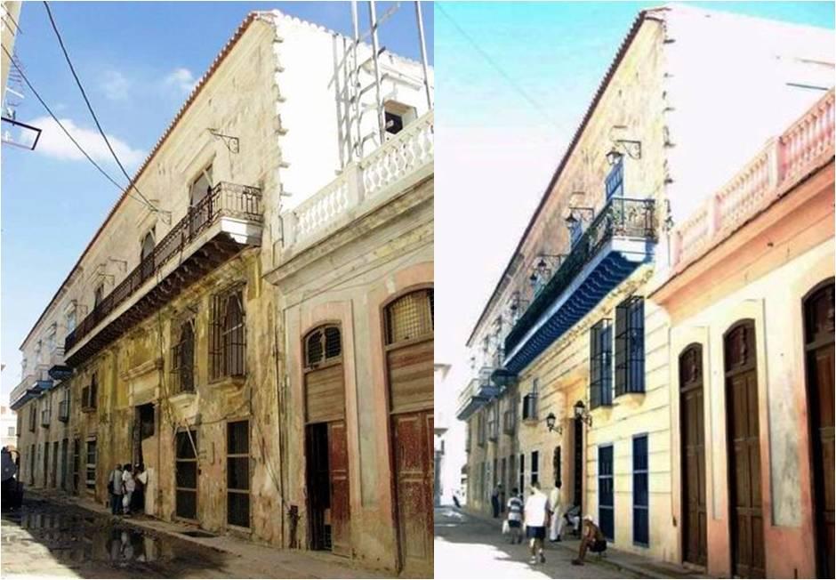 San Ignacio 411 antes y después