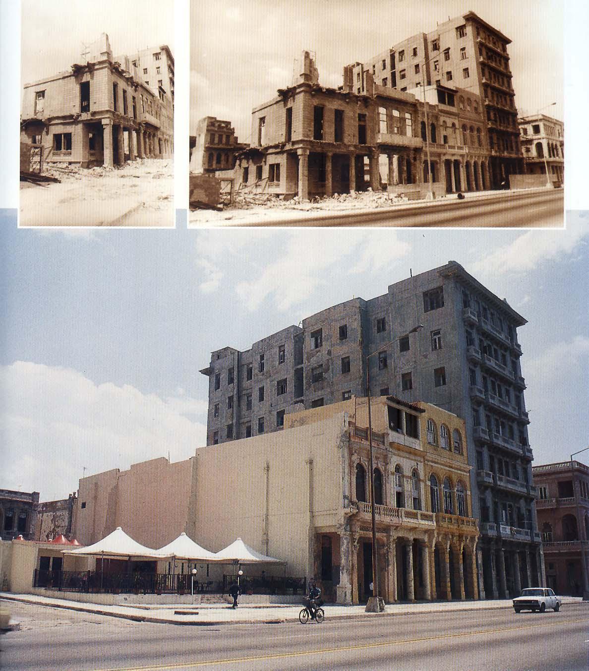 Edificaciones de malecón restauradas