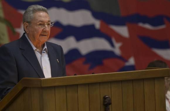 Raúl Castro en el VII Congreso del Partido. Foto: Ismael Francisco/ Cubadebate / Archivo