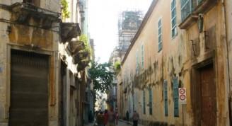Calle Sol hacia la Avenida del Puerto