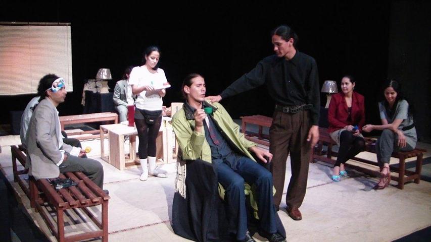 """""""Los caballeros de la mesa redonda"""", de Teatro del Viento"""