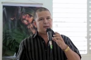 Dr.C Frank Josué Solar Cabrales, presidente de la Cátedra