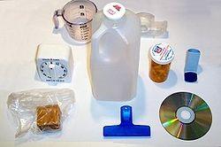 Objetos cotidianos de plástico