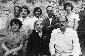 El matrimonio formado por Leonardo Buñuel González y María Portolés Cerezuela, tuvo siete hijos