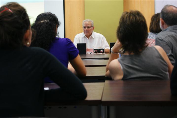 Cecilio Tieles, fundador y director artístico del encuentro