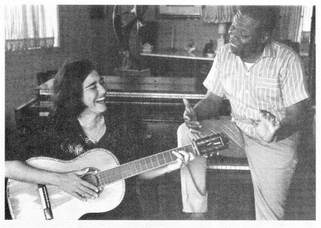 Teresita Fernandez y Bola de Nieve