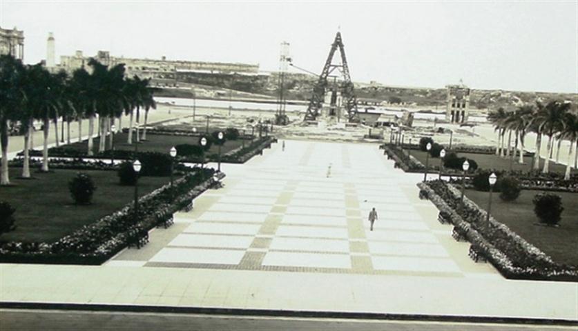 Monumento a Máximo Gómez-en construcción-1935