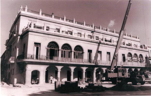 Obras en el edificio