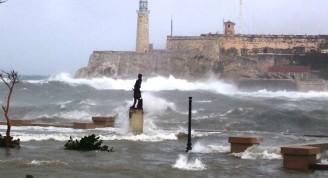 Pierre d´Iberville, bajo un ciclón