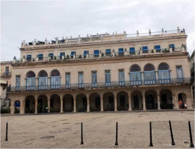 Hotel Santa Isabel después de la restauración