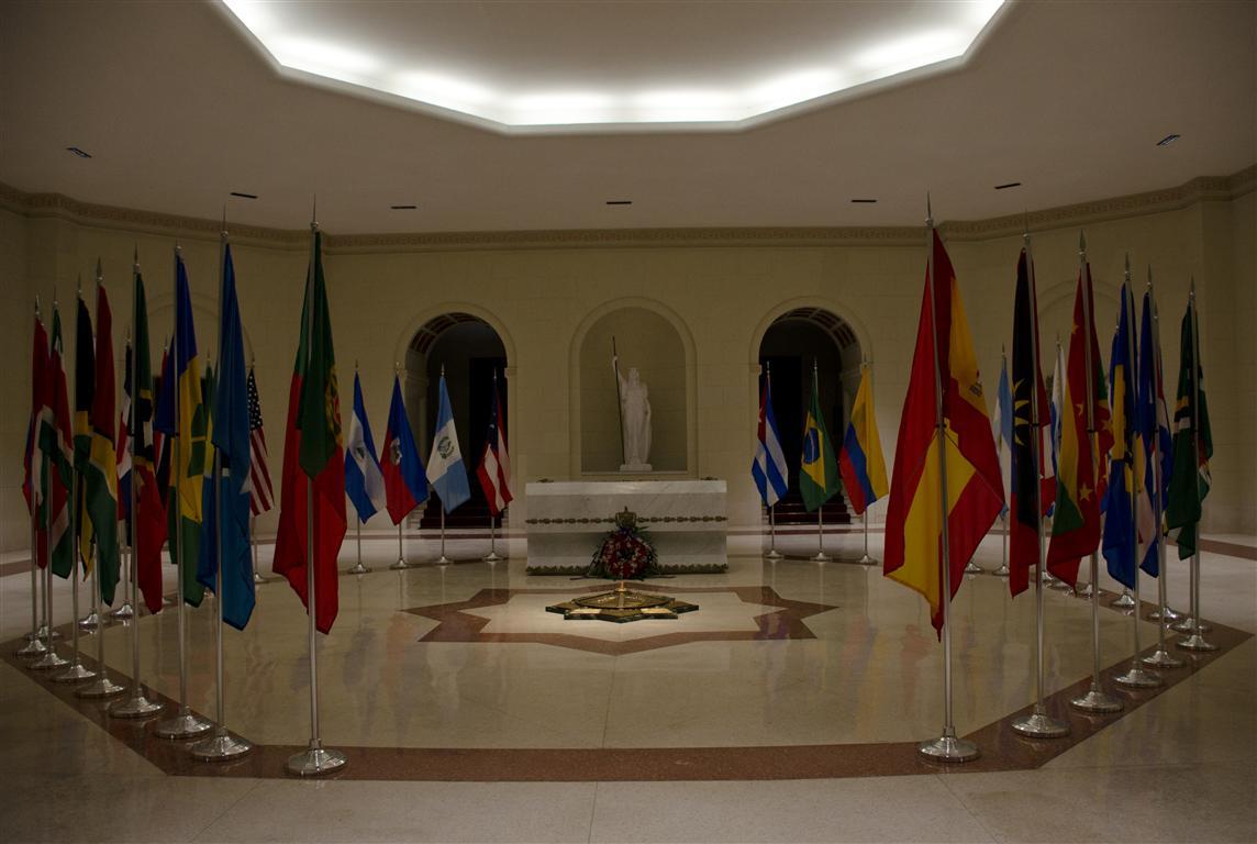 Cripta del Mambí Desconocido, en el Capitolio Nacional