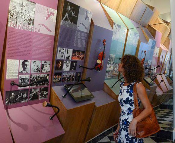 salas permanentes del Centro para la interpretación de las relaciones culturales Cuba-Europa