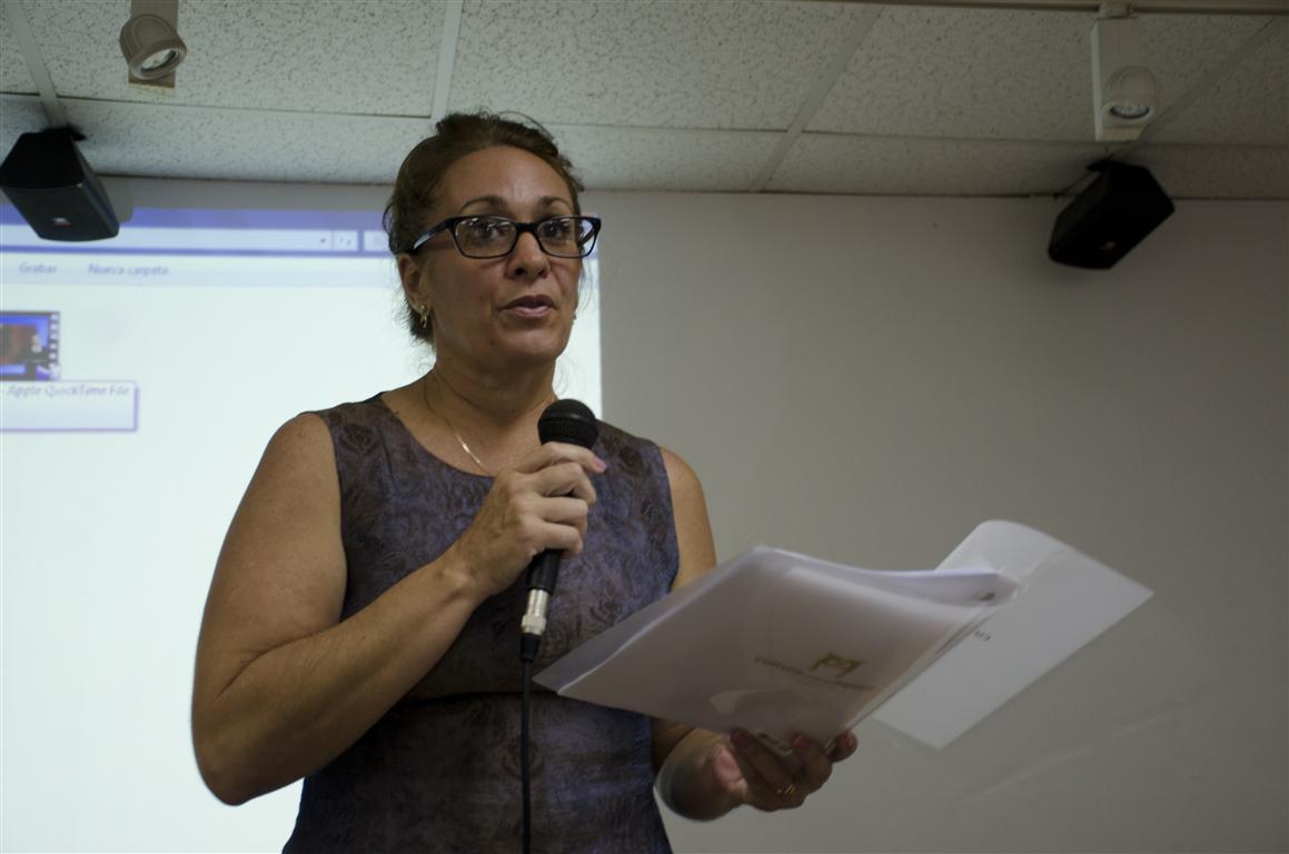 Yalena Gispert, fundadora del proyecto Cultura entre las Manos