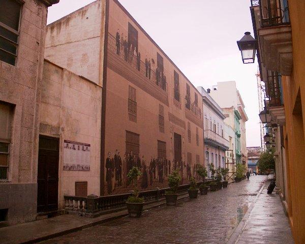 Mural de la calle Mercaderes